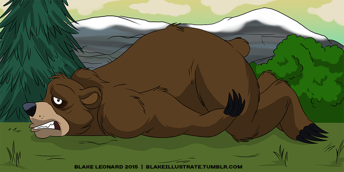 Lay-Bear Day! by blake-illustrate