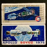 Apollo Soyuz Test Project - 1975 by Yesterdays-Paper
