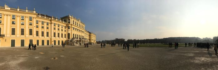 Palace Schoenbrunn Castle Grounds by Lassic