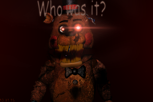 FNAF 4 - Nightmare Toy Freddy Teaser FANMADE by GoldenNexus