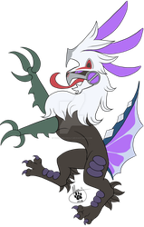 Heraldry Silvally Poison Type by TheMerryWolf