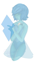 Character practice - Blue Pearl by StevidotTrash