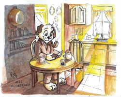Inktober 2017 Day 26 by pandapaco