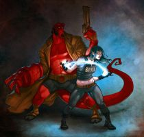 Hellboy Rocwell by SpicerColor