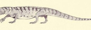 Mesosuchus by Kahless28