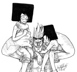 Franky and the Sisters by KaleiC