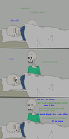 Wake up Sans by FableworldNA