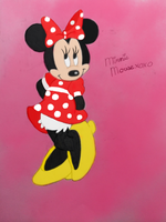 Minnie Mouse by snowdeer97