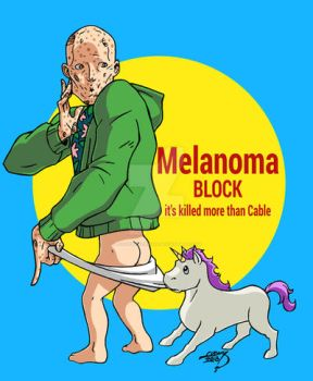 Deadpool Melanoma Block 2018 by LucasAckerman