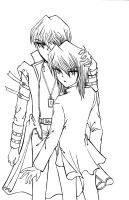 Kaiba X Jounouchi by Joanther