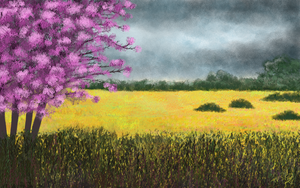Spring Blooming Tree by MarianthiZ