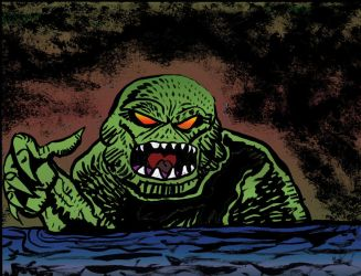 The Creature from the Black Lagoon DSC by exspasticcomics