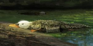 Crocoduck by EthicallyChallenged