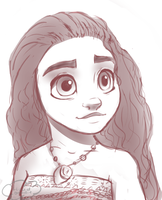 Moana by CloudDoodle