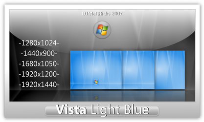 Vista Light Blue by DJMattRicks