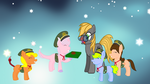 Editor With The little Scouts by FlowerEagleTale