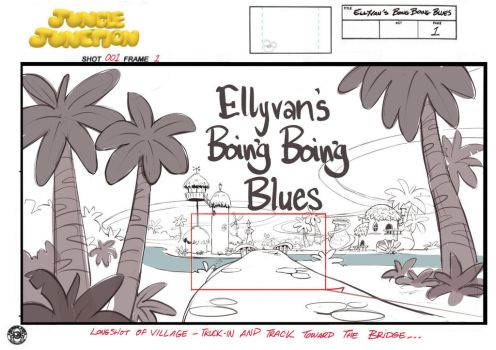 A 75 page Animation Storyboard by scratchmark