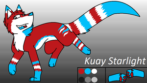 Kuay Starlight (Ref-Sheet) by AkuStarlight