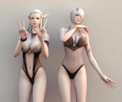 High Elves by YuiLeeNympha