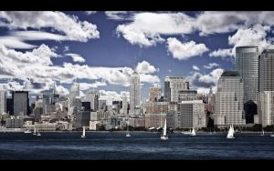 Forever Blue Skies of New York by PortraitOfaLife