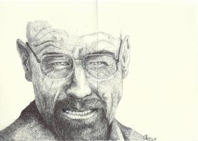 Walter White - Bryan Cranston by LadyFabcurly