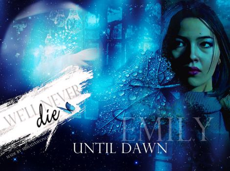 Until Dawn Emily Wallpaper by MissAdaWong