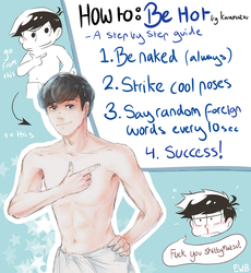 HOW TO BE HOT INSTANTLY by eggswithbenefits