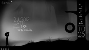 Limbo Rainmeter Desktop by GirlScout-Cookies