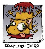 Decapitated Dingo by stuartmcghee