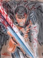 Guts (The Blackswordsman) by danielcamilo