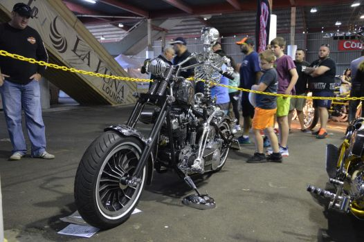 bankstown custom motorcycle show 2017 grim ride by WolfBlitz2