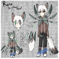 Rare Sciathan adopt (OPEN) by croum