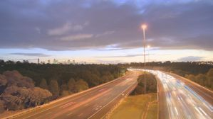 Melbourne from the Eastern Fwy by matricks79