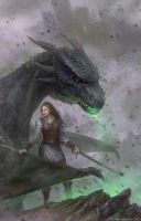 The Reckoning_book cover by VargasNi