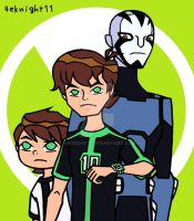 Team Ben 10 Omniverse by 4eknight11