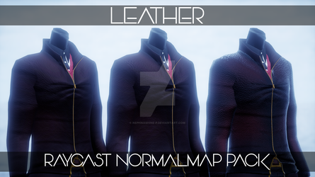 :DL: Leather Normalmap Materials for Raycast MMD by NEPHNASHINE-P