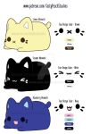 New Meowchi Plush Concepts