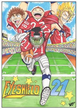 Eyeshield 21 by Djleemon