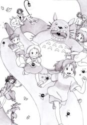 The wave of Ghibli by Blychee