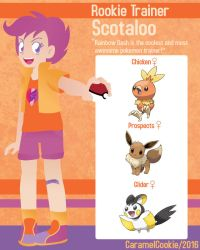My Little Rookie Pokemon Trainer - Scotaloo by CaramelCookie