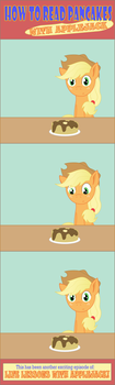 Life Lessons with Applejack! by TotallyAnAlicornGuys