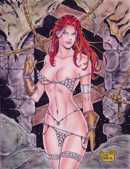Red Sonja (#38) -NUDE- by Rodel Martin by VMIFerrari