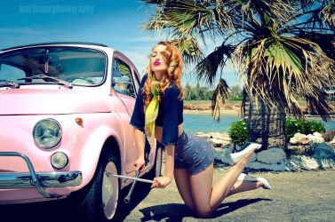 Pin up girls 8- A small gift by mariannaphotography