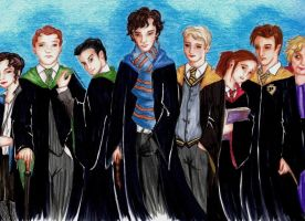 Hogwarts: The Sherlock Years by pennswoods