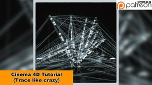 Trace like crazy (Cinema 4D - Tutorial) by NIKOMEDIA
