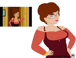 Peggy Hill Vector by mystic-skillz