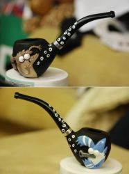 Regular show custom pipe by larijone