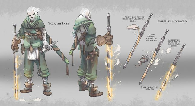 Character Concept / Mor, the Exile by BrotherBaston