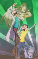 Rick and Morty's Bizarre Adventure_part 1 by MissFynd