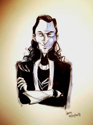 Loki from Asgard by pers-shime